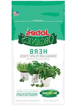 Jobes 09127 Organic Herb Plant Food Gran4lb, 4 lb