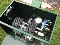 1/2 HP Sentinel Rocking Piston Deluxe Pond Aeration System P