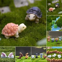 1* Miniature Various Animals Set Dollhouse Ornament Decor Fa
