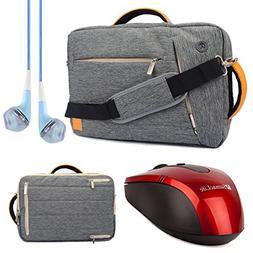 VanGoddy 3 in 1 Shoulder Bag Backpack and Messenger Bag Brie
