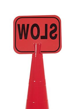 Mutual Industries 17729-0-1 Traffic Cone -  Slow Cone Sign,