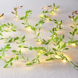 10 <font><b>Yard</b></font> Cloth Green Artificial Leaf Leav