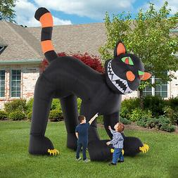 10' Lighted Inflatable Outdoor Halloween Yard Decoration - A