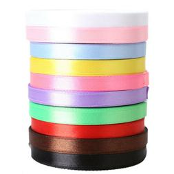 10 Rolls 25 Yards Length Ribbons 10mm 3/8 Cheap Decorative S