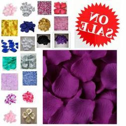 1000pc Petals Silk Fake Flower Floral Confetti Birthday Wedd