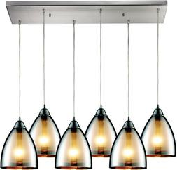 Elk 10073/6RC 30 by 9-Inch Reflections Polished Chrome 6-Lig