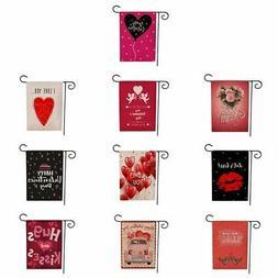 """12.5*18"""" Garden Flag Love Hearts Valentine's Day Home Garden"""