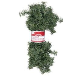 Holiday Time 12 Foot Non-Lit Christmas Pine Green Garland In