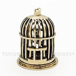 Odoria 1:12 Miniature Vintage Golden Birdcage Dollhouse Fair