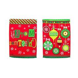 Evergreen Enterprises 14S3541FB Merry Christmas Ornaments Ga
