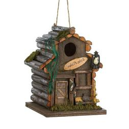15281 Wholesale Woodland Cabin Birdhouse Garden Decor Decora