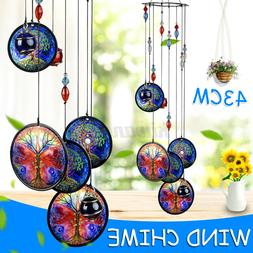"""17"""" Tree of Life Wind Chimes Metal Hanging Ornament Garden P"""