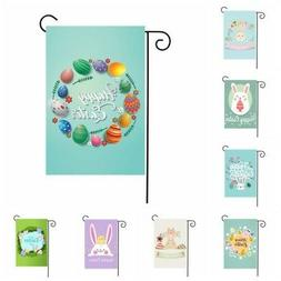 1pc easter outdoor garden flag indoor home