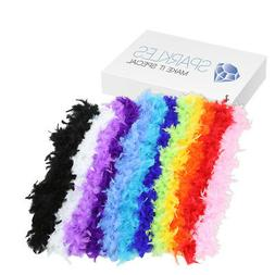 2 Yard Feather Boa - Birthday Bachelorette Party Wedding Spe