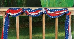 20 Ft Roll Patriotic Stars Stripes Flag Bunting Outdoor Yard
