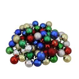20-pack Mini Christmas Ornaments, Assorted Colors and Styles
