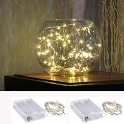 LED SopoTek 7ft 20 LEDS Starry Lights Fairy Lights Copper LE