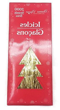 Christmas Tree Icicles Tinsel.Tinsel Tree Yarddecor