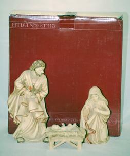 2006 - Gifts of Faith - Nativity Set - Mary / Joseph and Bab