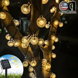 20ft Solar Powered 30 LED String Light Outdoor Garden Yard D
