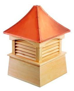 Good Directions 2142C Vinyl Windsor Cupolas - 42 in. Square