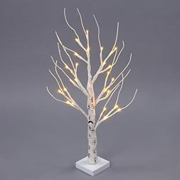 Excelvan Desk Lighted Tree Light, Decorative Flexible Creati