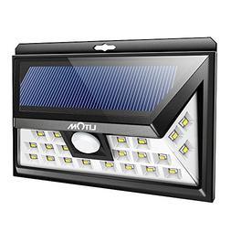 Eonfine 24 LED Solar Power Outdoor Motion Sensor Waterproof