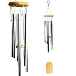 "25"" Wind Chimes Aluminum Tubes Hanging Ornament Home Outdoor"
