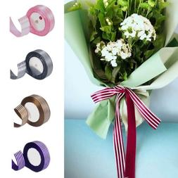 25 Yard Gift Wrapping Ribbon Wedding Bouquet Packaging Satin
