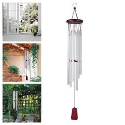 """28"""" Wind Chimes Aluminum Tubes Hanging Ornament Home Outdoor"""