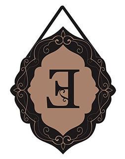 Evergreen Enterprises 2DHB1016E Classic Monogram Letter E Bu