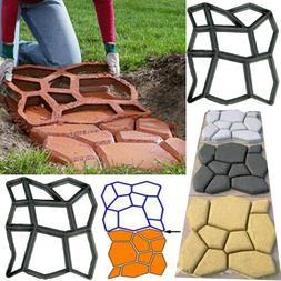 2pcs Path Maker Mold Walkway Paving Pavement Garden PP Concr