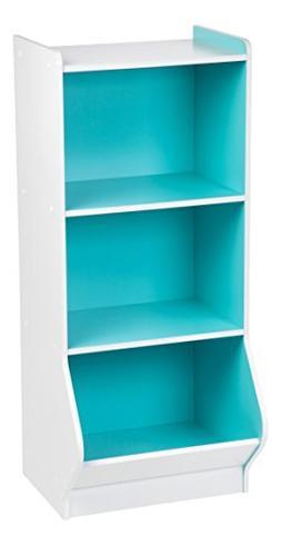 IRIS 3-Tier Storage Organizer Shelf with Footboard, White an