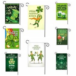 30x45cm St.Patrick's Day Garden Flags Home Decor Mini Yard B