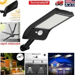 36 LED Solar Lights PIR Motion Sensor Waterproof Outdoor Gar