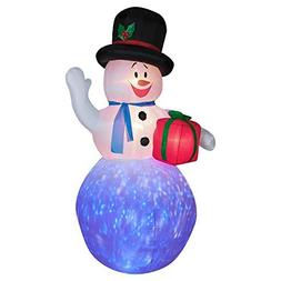Gemmy Inflateables Holiday 36299 Projection Air Blown Kaleid