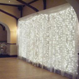 3Mx3M 300-LED Curtain Light Christmas Party Wedding Deco Lam