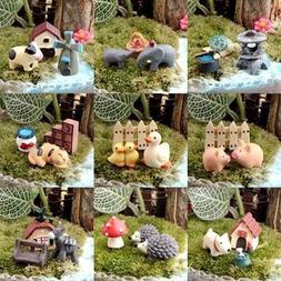 3Pcs Dollhouse Bonsai Craft Micro Landscape DIY Flower Pot M