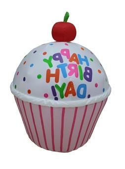 4 Foot Air Blown Inflatable Yard Decoration Happy Birthday C