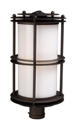 Elk 42155/1 Burbank 1-Light Outdoor Post Light 11-Inch Width