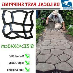 43*43cm Driveway Pathmate Stone Mold Paving Concrete Steppin