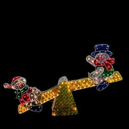 4FT Led Lighted Snowman Holiday Outdoor Indoor Christmas Yar