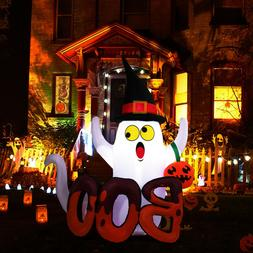 5' Halloween Inflatable Air Blown Up Ghost Pumpkin Lantern L