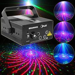 SUNY 5 Len RGB Laser Light Gobo LED Lighting Z80RGRB for DJ