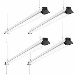 Home Lighting Light LED Garage Light 48W E27 6500K 4800Lm Deformable Shop Lamp With 4 Panels Light