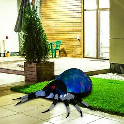 5FT Halloween Airblown Inflatable Spider Led Lighted Outdoor