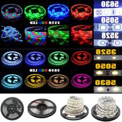 5M 300 LED Strip Light 3528 5050 5630 SMD RGB Ribbon Tape Ro
