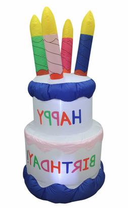6 Foot Air Blown Inflatable Blowup Yard Decoration Birthday