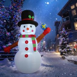 6'ft Inflatable LED Airblown Snowman Christmas Jumbo Outdoor