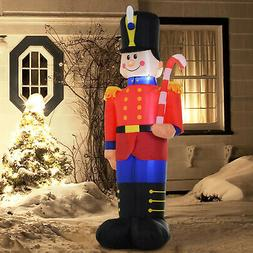 6' Toy Soldier Nutcracker Christmas Lawn Inflatable Outdoor